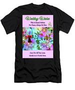 Brian Exton Celestial Flowers  Bigstock 164301632  2991949 Men's T-Shirt (Athletic Fit)