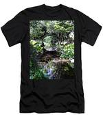 Bridge Reflection At Blarney Caste Ireland Men's T-Shirt (Athletic Fit)