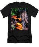 Brilliant Orange Men's T-Shirt (Athletic Fit)