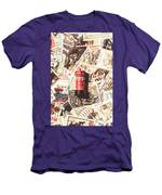 British Post Box Men's T-Shirt (Athletic Fit)