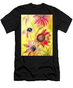 Broken Flowers Men's T-Shirt (Athletic Fit)