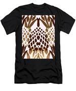 Brown Pineapple Men's T-Shirt (Athletic Fit)