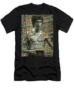 Bruce Lee Mosaic Men's T-Shirt (Athletic Fit)