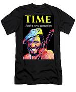 Bruce Springsteen Time Magazine Cover 1980s Men's T-Shirt (Athletic Fit)