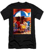 Brunch At The Ritz Men's T-Shirt (Athletic Fit)