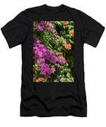 Burgazada Island Flower Color Men's T-Shirt (Athletic Fit)