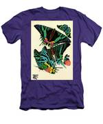 Butterflies, Plate-7 Men's T-Shirt (Athletic Fit)