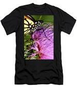 Butterfly Closeup Vertical Men's T-Shirt (Athletic Fit)