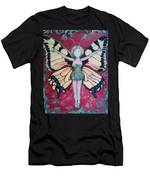 Butterfly Lady Men's T-Shirt (Athletic Fit)