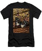 Butterfly On Indian Corn Men's T-Shirt (Athletic Fit)