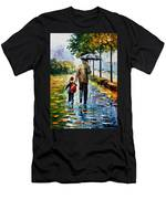 By The Rain Men's T-Shirt (Athletic Fit)