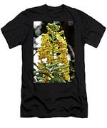 Caesalpinia Cacalaco In Huntington Desert  Gardens In San Marino-california  Men's T-Shirt (Athletic Fit)