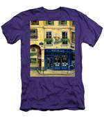 Cafe Van Gogh Men's T-Shirt (Athletic Fit)