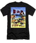 Canadian Beef Breeds Men's T-Shirt (Athletic Fit)
