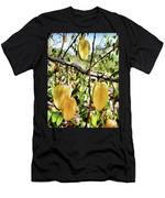 Carambola Fruit On The Tree Men's T-Shirt (Athletic Fit)