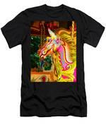 Carousel Horse London Alfie England Men's T-Shirt (Athletic Fit)