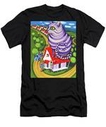 Cat On A Red Tin Roof Men's T-Shirt (Athletic Fit)