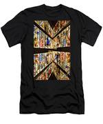 Cathedral Window Montage Men's T-Shirt (Athletic Fit)