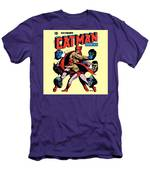 Catman And Kitten Square Format Men's T-Shirt (Athletic Fit)
