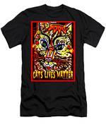 Cats Lives Matter Men's T-Shirt (Athletic Fit)