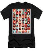 Celebrities Men's T-Shirt (Athletic Fit)