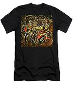 Chaos On The Track Men's T-Shirt (Athletic Fit)