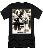 Cherokee Indian Couple Men's T-Shirt (Athletic Fit)