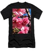 Cherryblossoms Perspective  Men's T-Shirt (Athletic Fit)