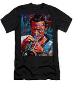 Chet Baker Men's T-Shirt (Athletic Fit)