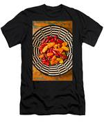 Chili Peppers In Basket  Men's T-Shirt (Athletic Fit)