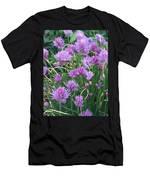 Chive Flowers Men's T-Shirt (Athletic Fit)