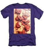 Chocolate Tableware Destruction Men's T-Shirt (Athletic Fit)