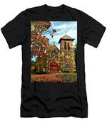 Christ My Solid Rock Men's T-Shirt (Athletic Fit)