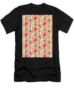 Christmas Candy Men's T-Shirt (Athletic Fit)