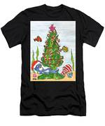 Christmas Of The Sea Tree Men's T-Shirt (Athletic Fit)