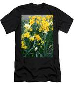 Circle Of Daffodils Men's T-Shirt (Athletic Fit)
