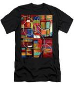 Circular Confusion Men's T-Shirt (Athletic Fit)