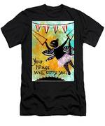 Circus Kitty - Your Wings Will Carry You Men's T-Shirt (Athletic Fit)