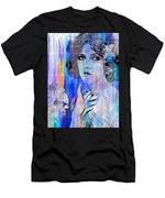 Clara Bow I'll See You In New York Men's T-Shirt (Athletic Fit)