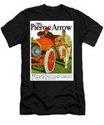 Classic American Car Pierce Arrow 6 Cyl Convertible Ad Men's T-Shirt (Athletic Fit)