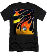 Classic Flames Men's T-Shirt (Athletic Fit)