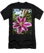Clematis Petals Men's T-Shirt (Athletic Fit)