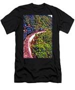 Climbing The Himalayas Men's T-Shirt (Athletic Fit)