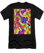 Color Drawing Abstract #3 Men's T-Shirt (Athletic Fit)