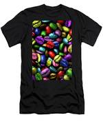 Color Full Coffe Beans Men's T-Shirt (Athletic Fit)