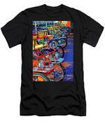 Color Of Bikes Men's T-Shirt (Athletic Fit)