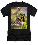 Colorful Butterfly Men's T-Shirt (Athletic Fit)