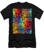 Colorful Crash 11 Men's T-Shirt (Athletic Fit)