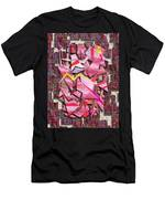 Colorful Scrap Metal Men's T-Shirt (Athletic Fit)