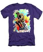 Colorful Thinker Men's T-Shirt (Athletic Fit)